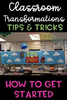 Classroom transformations are a unique way to engage your students in learning. Classroom Hacks, Flipped Classroom, Kindergarten Classroom, School Classroom, Classroom Themes, Classroom Organization, Classroom Management, Elementary Math, Problem Based Learning