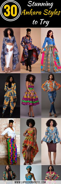 30 Stylish Ankara Styles to Try Right Now. If you are searching for some of the hottest styles this season, you need to read this article to discover some of the most stunning Ankara dresses, skirts, tops, and pants. African American Fashion, African Inspired Fashion, African Print Fashion, Ethnic Fashion, African Print Top, African Prints, African Print Dresses, African Fashion Dresses, Nigerian Fashion