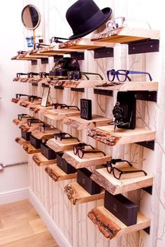 Spectacle display - Taylor-West & Sloan Optometrists