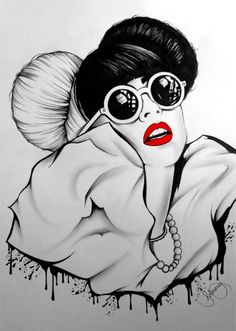 Lady Gaga, illustration