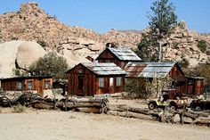 Keys Ranch - 1 mile hike from Hidden Valley campground in Joshua Tree NP