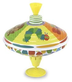 Look at this Eric Carle Spinning Top on today! Kids Toy Shop, Toys Shop, Toddler Toys, Kids Toys, Spinning Top, Activity Toys, Developmental Toys, Very Hungry Caterpillar, Eric Carle