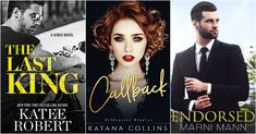 """""""I don't want to stop..."""" Katee Robert Spotlight. Features from Katana Collins and Marni Mann."""