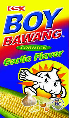 Boy Bawang garlic flavor snacks from the Philippines