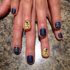 Nailed It: The Best Manicures at the Boston Marathon: Any runner will tell you that a lot of thought goes into choosing their race-day outfit — especially when you're running the Boston Marathon.