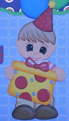 Birthday Scrapbook, Paper Piecing, Holi, Baby Animals, Smurfs, Pikachu, Baby Kids, Crafts For Kids, Homemade
