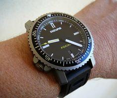 Dievas Focal Tactical Watch - Clean