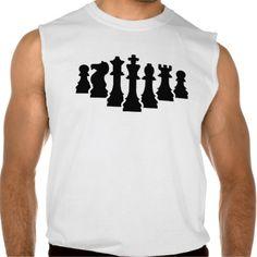 Chess game sleeveless shirt Tank Tops