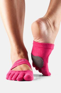 ToeSox 'Dance Releve' Full Toe Gripper Socks | Nordstrom