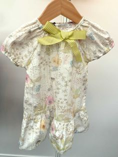 Liberty wildflower print from P'tit Chic... De Paris for younger children summer 2013