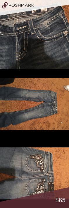 miss mes miss mes 26 long little wear at the bottom Miss Me Jeans Boyfriend