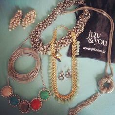 Várias opções de bijuterias!