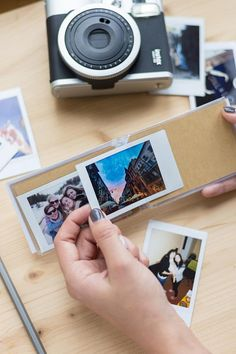 Photo album for 20 instax mini snaps. This handy album is the perfect way to keep your most recent travel photos safe and sound. Key features: - Holds 20 Instax Mini size photos - Perfect for traveling - Handy size - Flamingo print design Instax Mini Album, Polaroid Instax, Instax Mini Film, Fujifilm Instax Mini, Polaroid Photo Album, Polaroid Photos, Polaroid Ideas, Instant Print Camera, Flamingo Print