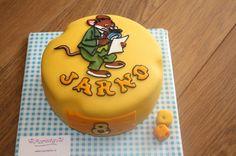 Geronimo Stilton birthday cake