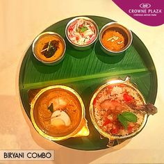 Nothing can be better than an #Authentic #Biryani #Combo at #Dakshin #CrownePlazaChennai #AdyarPark