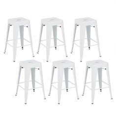 Complete home bar design with these 26 inch barstools, create a casual breakfast look or dining space that looks crisp and modern Vintage Bar Stools, 26 Bar Stools, Metal Bar Stools, Counter Stools, Bar Chairs, Dining Chairs, Dining Room, Design Seeds, Tom Dixon