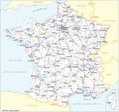 Carte Routiere De France Carte Routiere De France Carte