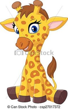 Baby giraffe Illustrations and Stock Art. Baby giraffe illustration and vector EPS clipart graphics available to search from thousands of royalty free stock clip art designers. Cartoon Giraffe, Cute Giraffe, Baby Cartoon, Cute Cartoon, Giraffe Baby, Clipart Baby, Giraffe Drawing, Giraffe Pictures, Baby Clip Art