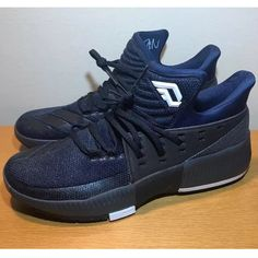 info for 3e109 2b72c Shop Men s adidas Blue Black size Athletic Shoes at a discounted price at  Poshmark. Description  New without box- Men s Adidas Dame 3 Size  Color   Navy ...