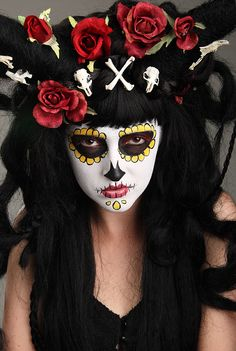 Day of the Dead - makeup by http://shashonnaknecht.com/