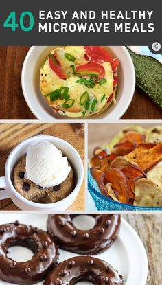 40 Delicious Things You Didn't Know You Could Make in a Microwave #recipes #healthy #microwave