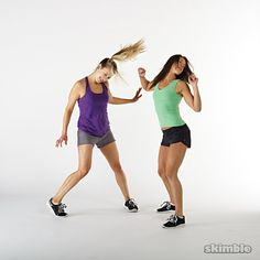 Hip Hop dance routine for cardio exercise