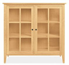 Adams Glass Door Cabinets - Cabinets & Storage - Dining - Room & Board