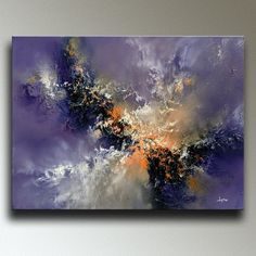 """Christopher Lyter: A new #abstract painting: """"Lavender Storm"""" 18"""" x 24"""" original... - #Abstract #Christopher #Lavender #Lyter #original #painting #Storm Abstract Oil, Abstract Expressionism, Graffiti Designs, Contemporary Abstract Art, Contemporary Artists, Outdoor Art, Painting Techniques, Art Paintings, Portrait Paintings"""