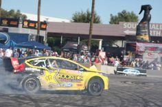 Ford racing track display at 2012 SEMA