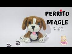 PERRITO BEAGLE Amigurumi Tutorial paso a paso (Patrón en Descripción) | Crochet - YouTube Crochet Dog Patterns, Amigurumi Patterns, Knitting Patterns, Cute Crochet, Crochet Toys, Crochet Baby, Mini Beagle, Amigurumi Tutorial, Dog Crafts