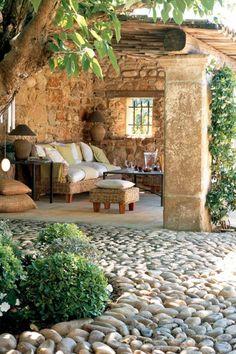 meubles de jardin. meubles rustiques, table rustique, aménagez le jardin!