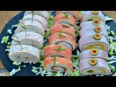 Cocina – Recetas y Consejos Decadent Cakes, Antipasto, Summer Recipes, Finger Foods, Catering, Sushi, Food To Make, Brunch, Food And Drink