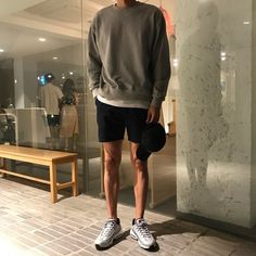 12 Useful Tips about Men's Fashion – Designer Fashion Tips Short Outfits, Cool Outfits, Casual Outfits, Fashion Outfits, Korean Fashion Men, Latest Mens Fashion, Stylish Men, Men Casual, Stil Inspiration