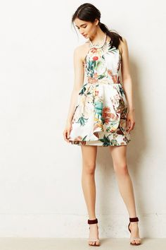 Seriously, how to I always pick out the most expensive dresses on the site? Botanic Atelier Peplum Dress - anthropologie.com