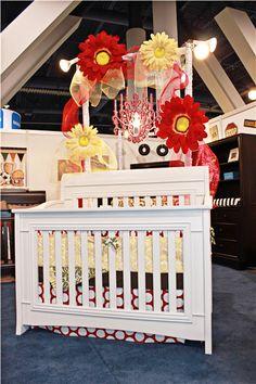 Enclave crib in snowdrift.  #enclave #crib #baby #nursery #babysdream