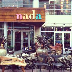 Nada, a new favorite restaurant in downtown Cincinnati.