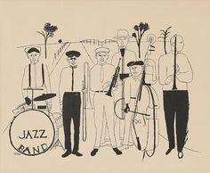 Communication Design Blog: Jazz, Ice Cream, Baseball & Ben Shahn
