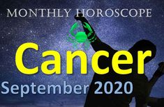 Cancer Monthly Horoscope September 2020, This September for Cancer will be off. The most important thing will be health, family and money. September Horoscope, Gemini, Money, Health, Twins, Silver, Health Care, Twin, Salud