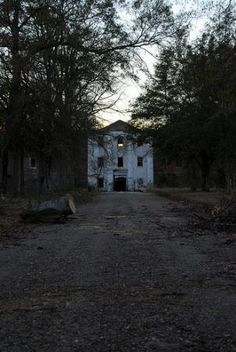 Old Bryce Mental Institution (Jemison Mental Institute) in Tuscaloosa, Alabama - rumored to be insanely haunted.