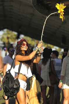 vanessa hudgens at coachella <3