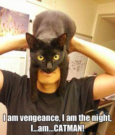 I am the night…
