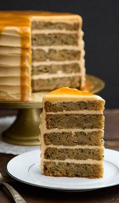 BROWN BUTTER ZUCCHINI CAKE