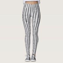 grey Elegant modern retro leggins Leggings