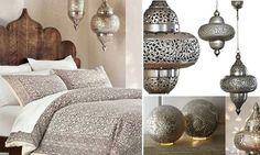 kolonialne lampy indyjskie | marokański