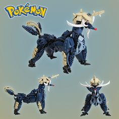 artist Mike Nieves has been creating Pokémon models for a few years now, Nieves is a LEGO Pokémon master. Lego 3d, Lego Robot, Lego Mecha, Lego Bionicle, Cool Lego, Lego Minecraft, Lego Pokemon, Pokemon Stuff, Pokemon Trading Card