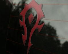 Horde World of Warcraft Faction Decal