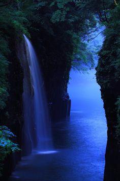 Manai Waterfall, Takachiho Gorge, Miyazaki, Japan
