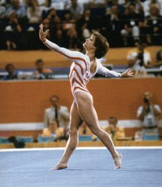 Gymnast Mary Lou Retton stole hearts and won gold at the 1984 Olympics in Los Angeles.