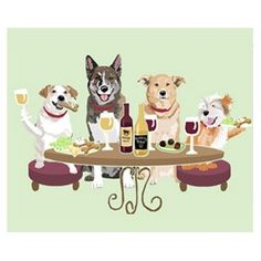 """Dogs """"WINEing"""""""