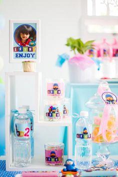 Girly Pocoyo Birthday Party Planning Ideas Supplies Idea Cake Decor